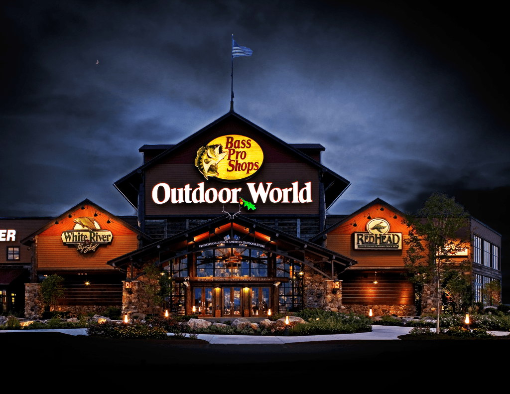 Bass Pro Shops Outdoor World Harrisburg Architects